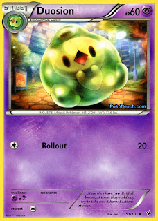 Duosion Pokemon Card Noble Victories Set