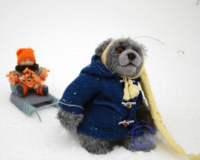 игрушки, вязанные игрушки, авторские игрушки, вязанные игрушки, мишка тедди, куколка, мурико