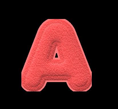 Abc Alfabeto Multicolor De Fieltro En Png Arte Digital