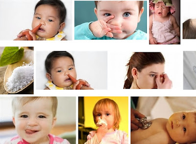 hidung tersumbat pada bayi dan anak