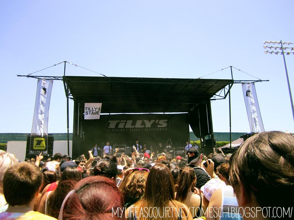 Vans Warped Tour 2013 Pomona California Hawthorne Heights