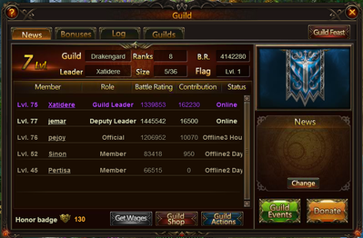 League of Angels Guilds