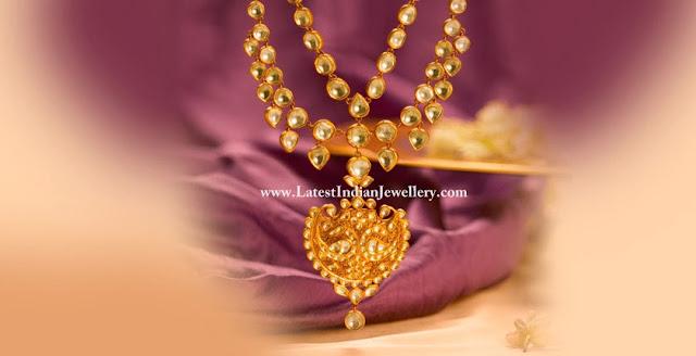 Reversible Kundan Necklace