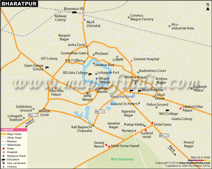 Bharatpur India  city photo : Bharatpur: A spot of Rajasthan | India Tourism