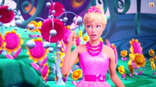 Wallpaper Barbie Alexa and the Secret Door
