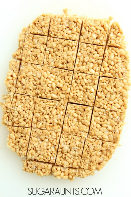 Honey (No marshmallow) rice krispy treats recipe