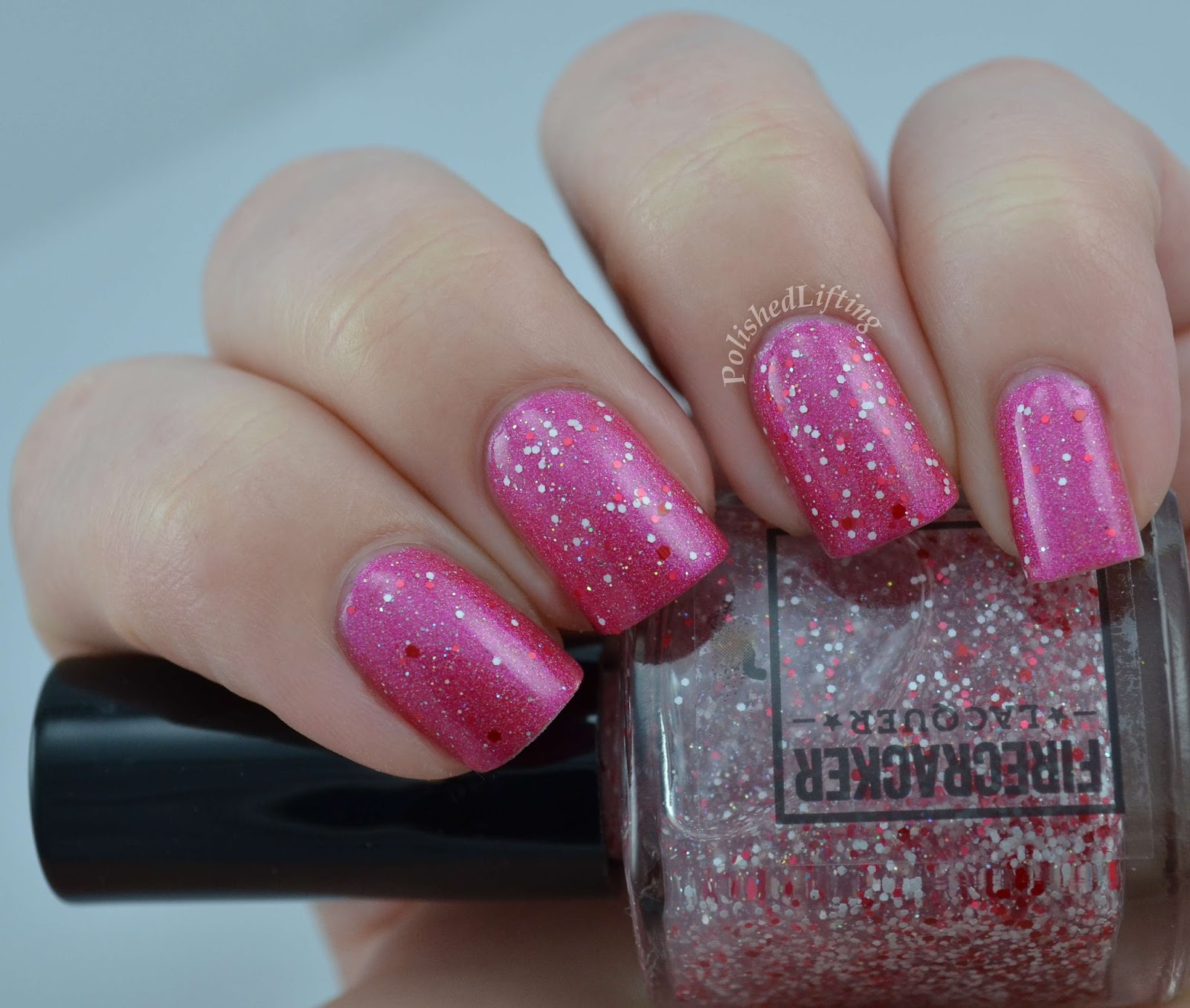 Firecracker Lacquer You're My Favorite Explosion What Is Love Collection