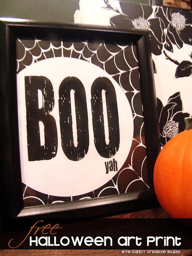 halloween mantel decor, black and white Halloween, pumpkin, BOO