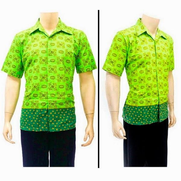 Baju Hem Batik  Pria BP4263