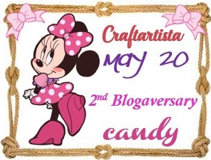 Craftartista 2nd blogaversary Giveaway
