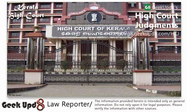 Kerala High Court, Ernakulam Judgments