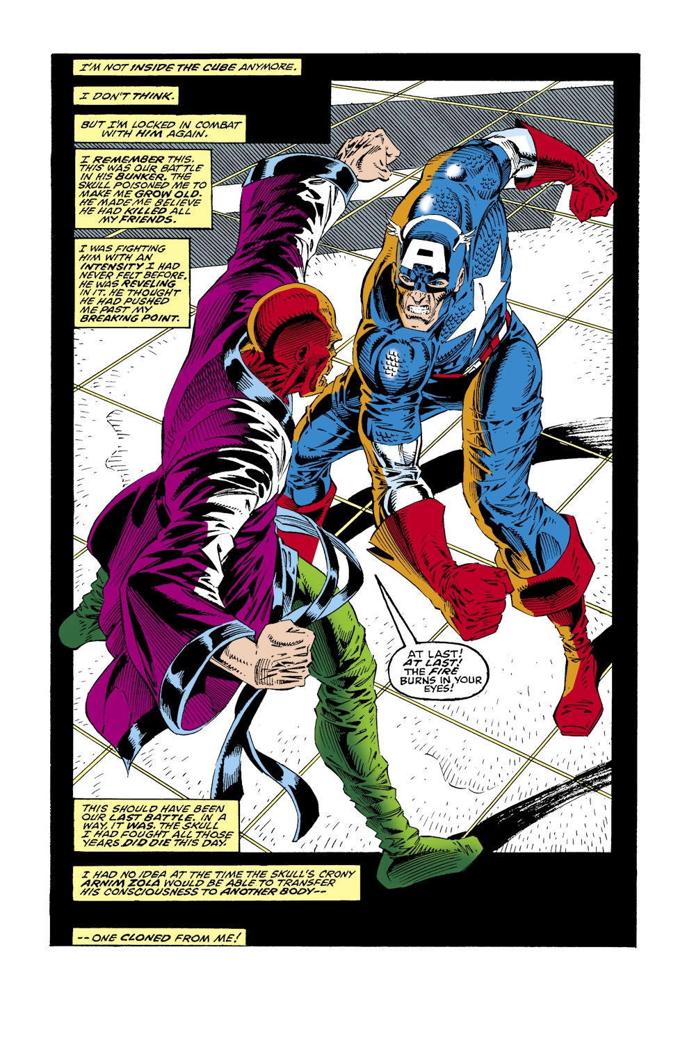 Captain America (1968) Issue #437 #387 - English 16