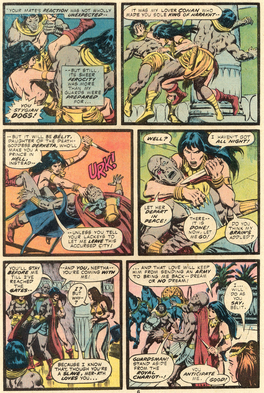 Conan the Barbarian (1970) Issue #84 #96 - English 5