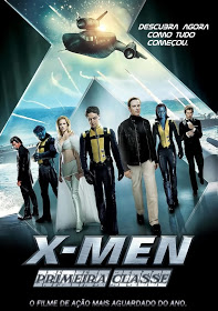 Filme X Men Primeira Classe Dublado AVI BDRip