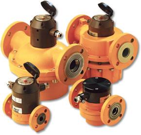 ISTEC Aquametro Chemical Flow Meter