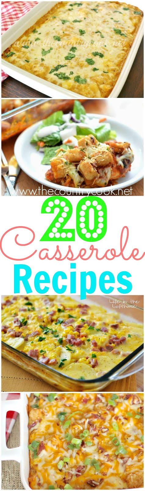 20 *Must-Have* Casserole Recipes