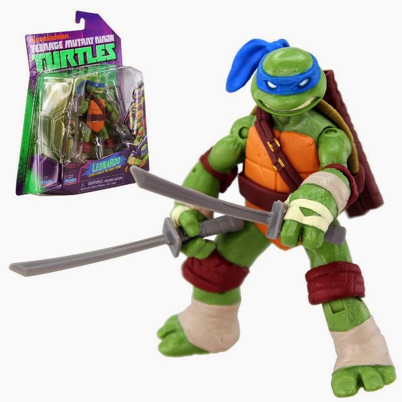 TOYS - LAS TORTUGAS NINJA - Muñeco de Leonardo  Juguete Oficial | Playmates Toys | Teenage Mutant Ninja Turtles  Figura, Muñeco de acción | A partir de 4 años