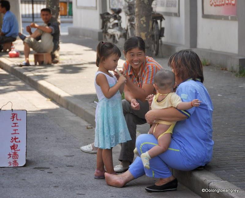 Ladies on Shanghai Street
