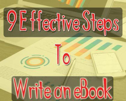 9 steps to create an eBook is written by BloggingFunda - A Community of Bloggers to motivate you while blogging.