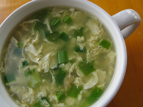 How to make Chinese Egg Drop Soup - Indianfoodcafe