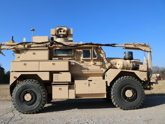 Us Army Installing 15 Mraps With Ied Blasting Lasers