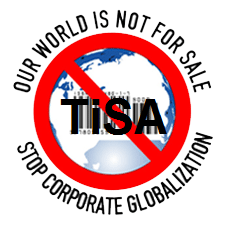 No al Tratado de Servicios TiSA