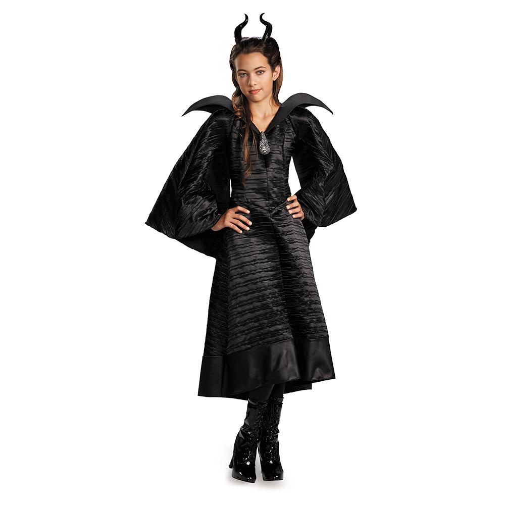 disfraz maléfica niña halloween 2014