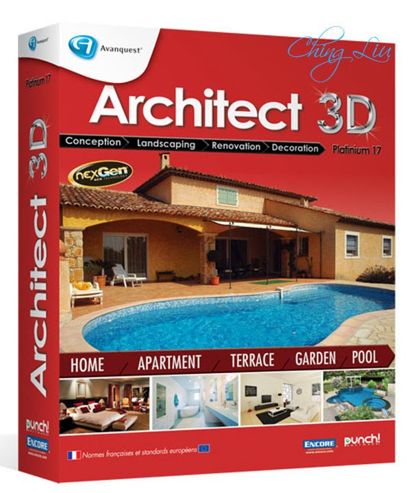 Architect 3d platinum 17 5 serial key activation for Architecte 3d key