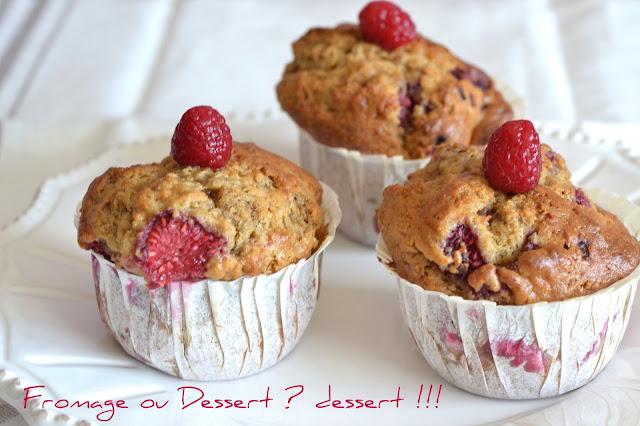 fromage ou dessert dessert muffins au mascarpone et aux framboises
