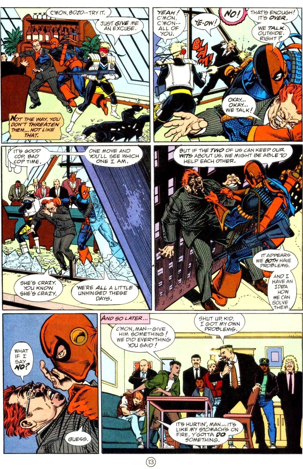 Deathstroke (1991) Issue #11 #16 - English 14