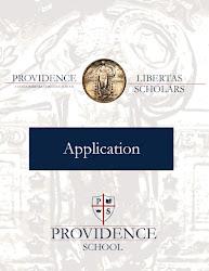 Libertas Scholars Program Application 2016-2017