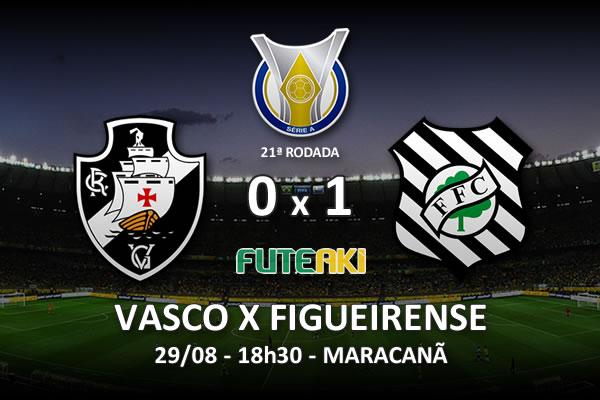 Veja o resumo da partida com o gol e os melhores momentos de Vasco 0x1 Figueirense pela 21ª rodada do Brasileirão 2015.