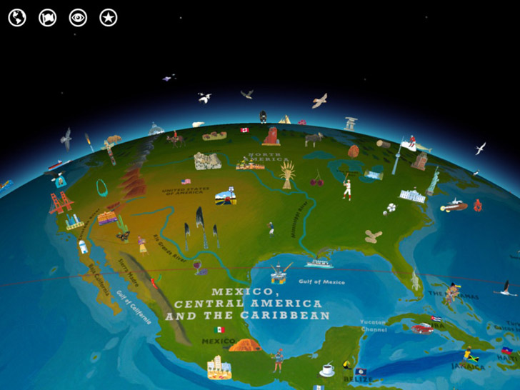 Barefoot World Atlas App iTunes App By Touch Press - FreeApps.ws