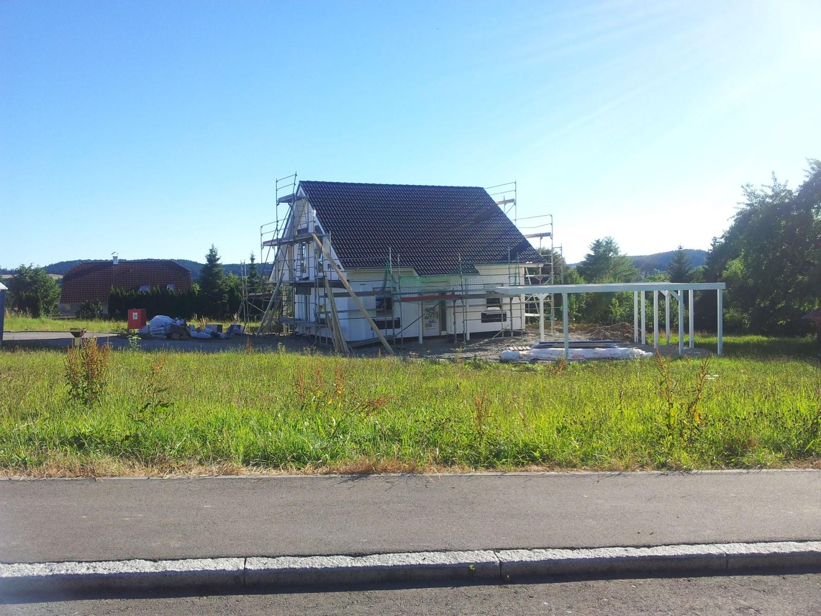Bautagebuch pappelweg hausbau tag 3 4 for Hausbau forum