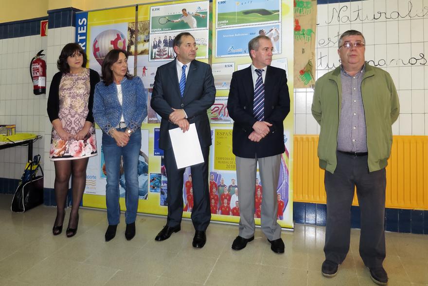 Inauguración Exposición Didáctica Itinerante Colegio La Ería, Oviedo