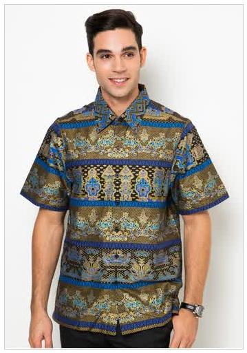 Contoh Model Baju Batik Untuk Pria Terbaru 2015 Monggo