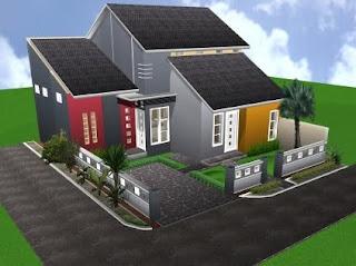 bangunan rumah minimalis