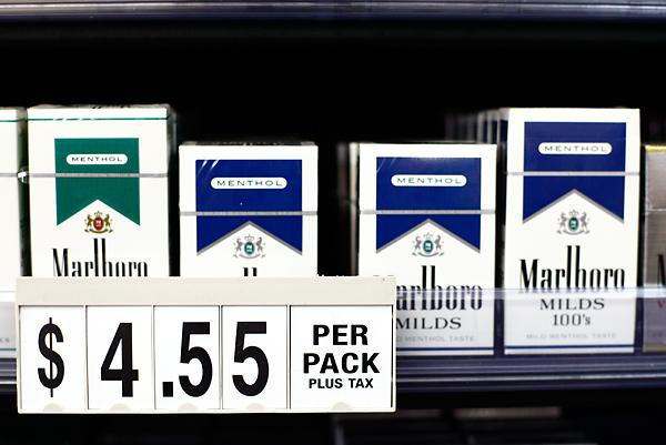 Most expensive cigarettes Marlboro by state