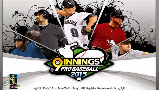 9 Innings Pro Baseball 2015 for iPhone and iPad