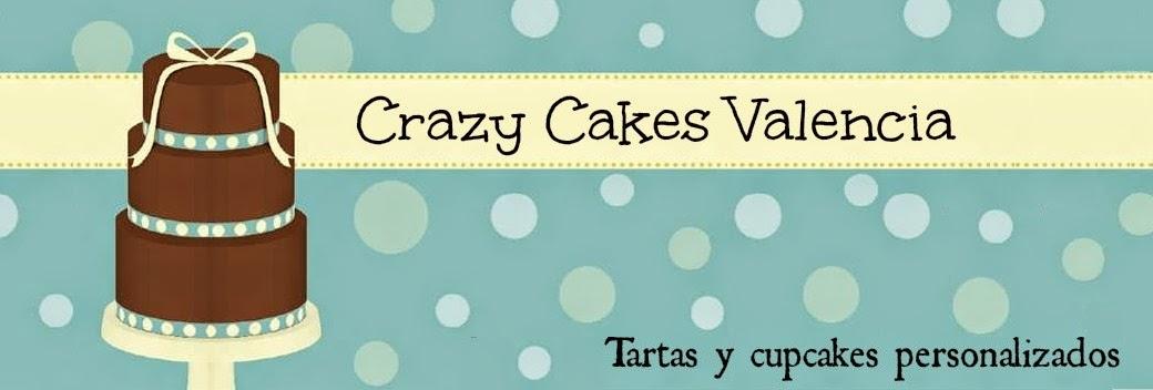 Crazy Cakes Valencia. Tartas y cupcakes personalizados