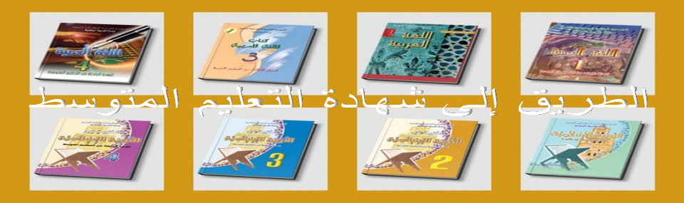 الطريق إلى شهادة التعليم المتوسط من هنا و فقط .اللغة العربية.  246573_3312943705474_77998542101_n