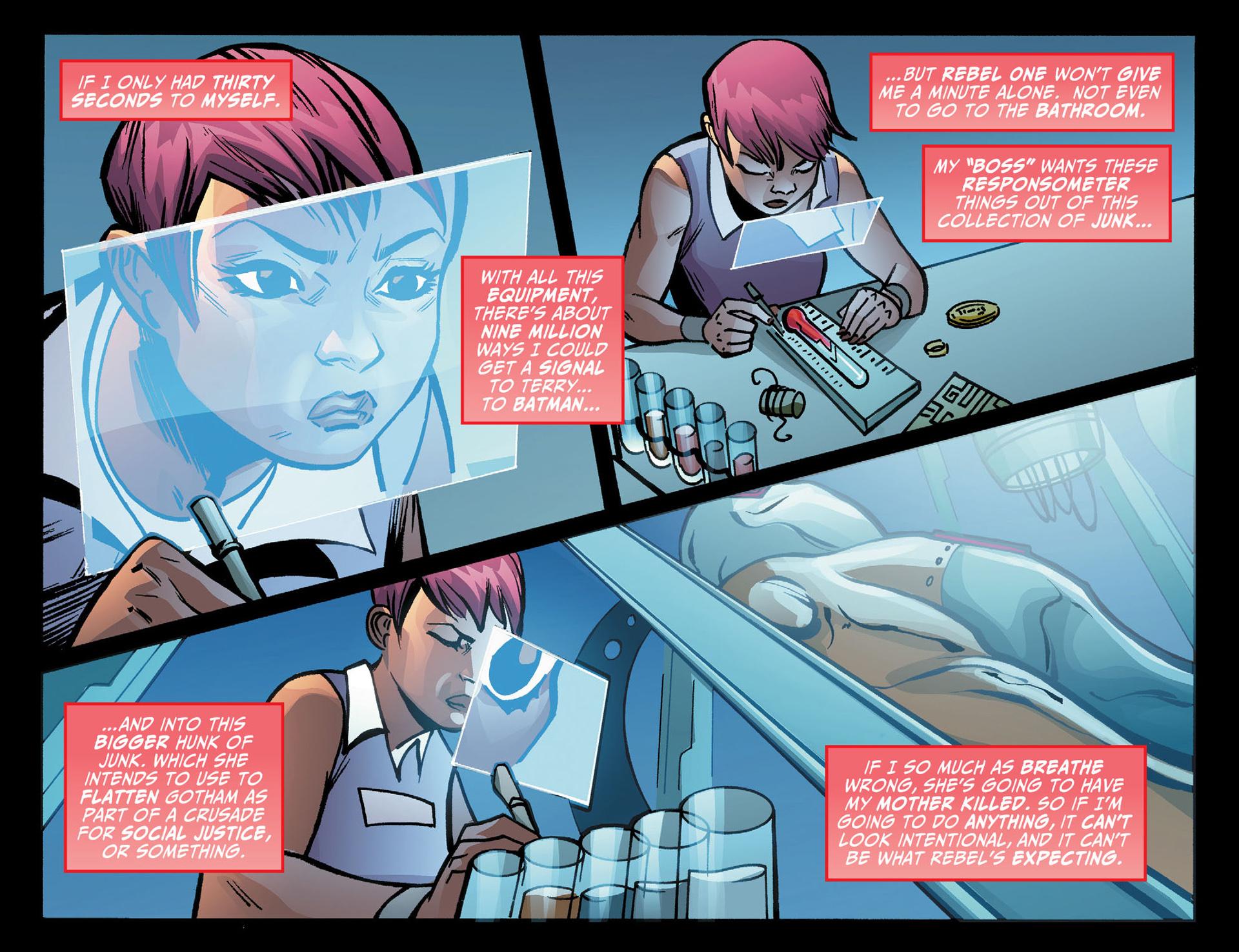 Batman Beyond (2012) Issue #22 #22 - English 7