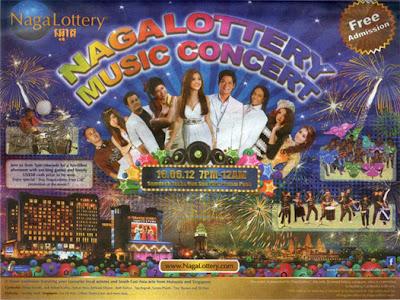 Naga Lottery Concert (16.06.2012)