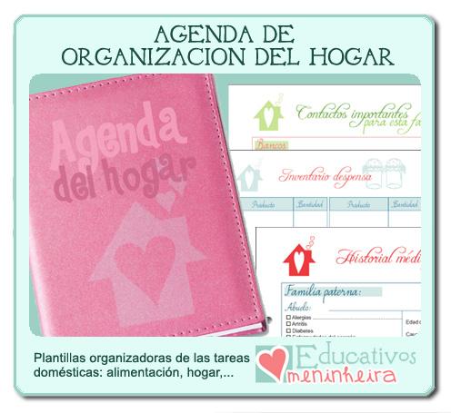 Agenda de organización del hogar