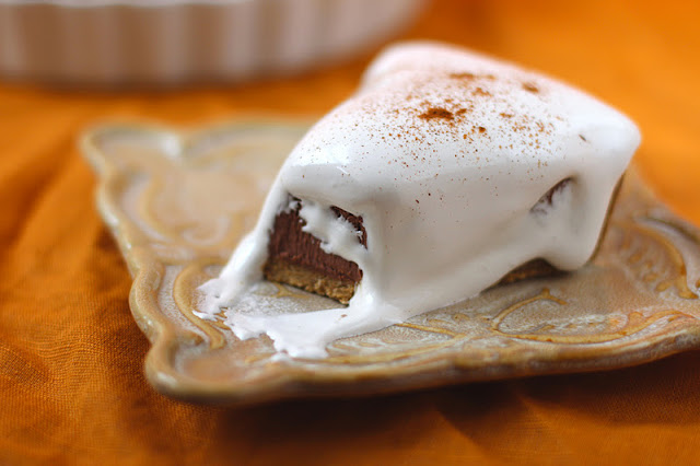 Healthy S'mores Pie - Desserts with Benefits