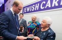 Príncipe William elogia comunidade judaica da Inglaterra