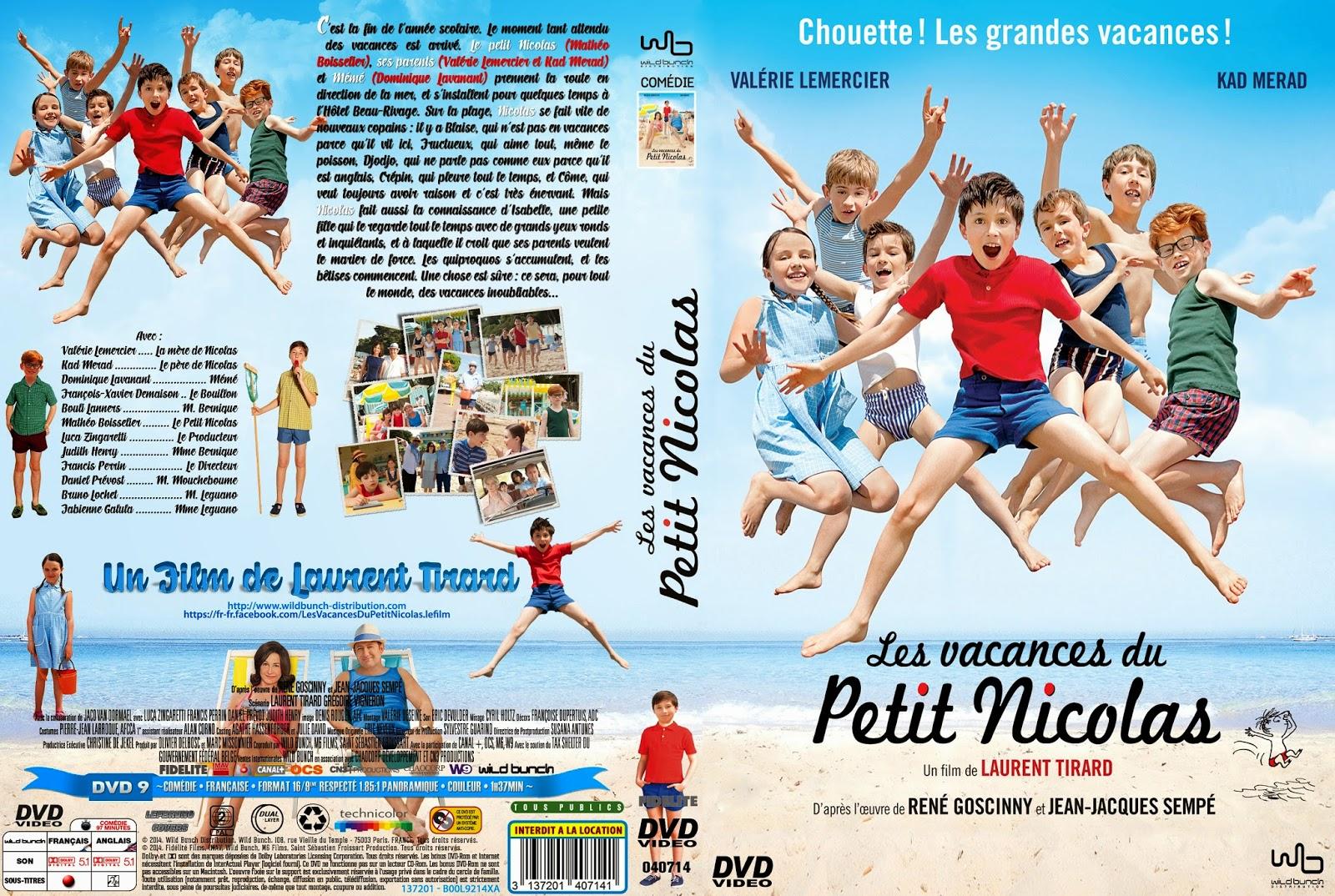 Каникулы маленького Николя / Les Vacances du Petit Nicolas / Nicholas on Holiday. 2014.