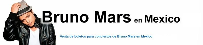 Boletos Bruno Mars en Mexico 2018 Primera Fila