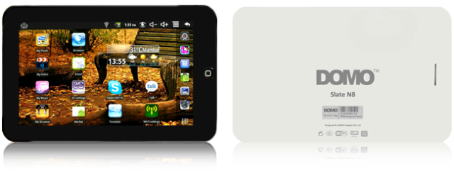DOMO+Slate+N8 Buy android tablet priced Rs.4000 in india best Budget friendly tab
