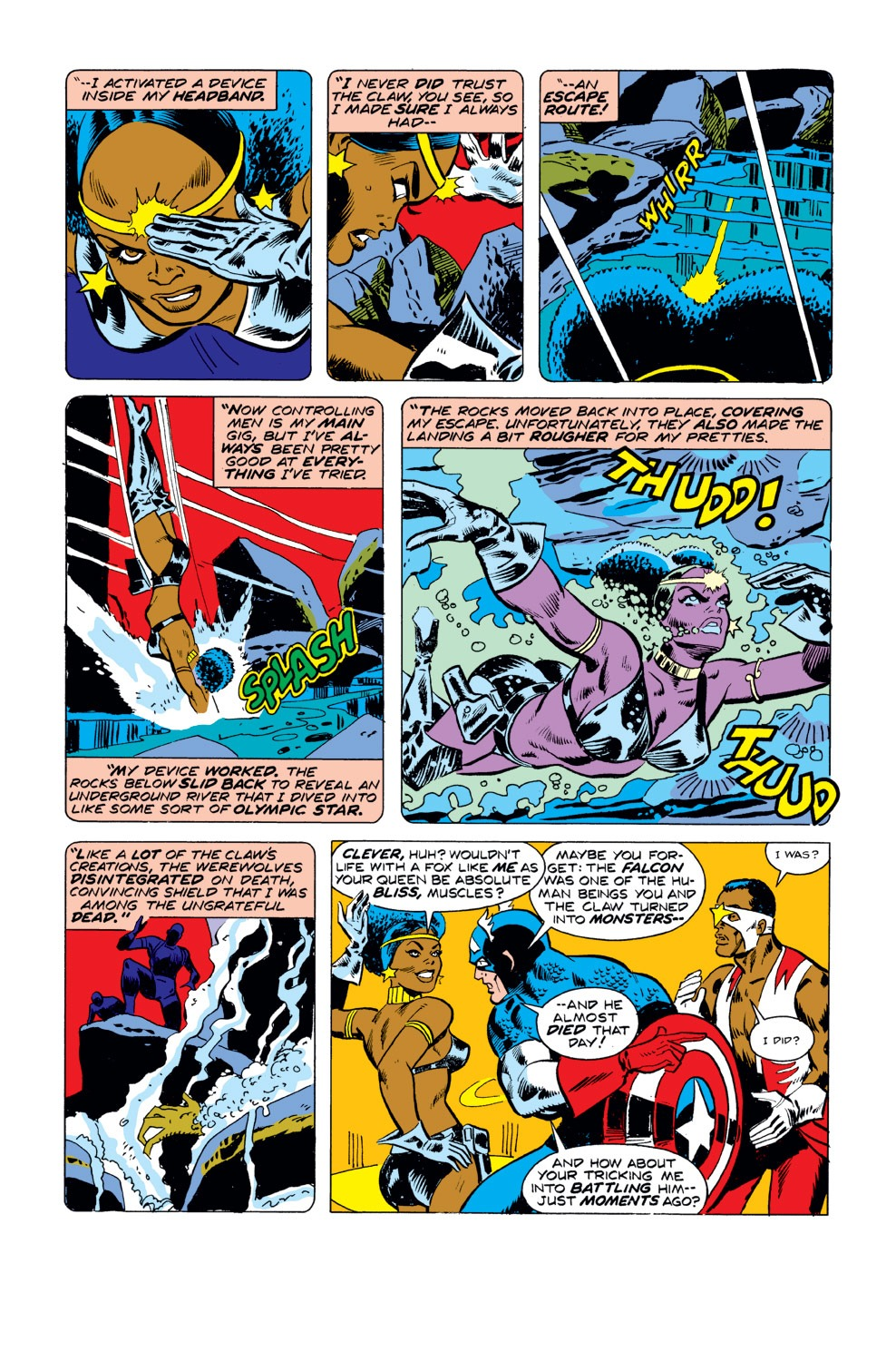 Captain America (1968) Issue #190 #104 - English 6